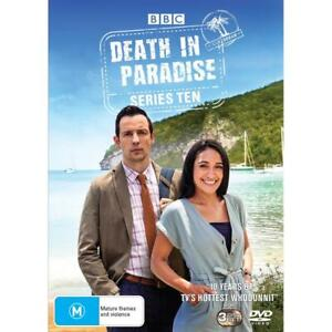 Death In Paradise Series : Season 10 : NEW DVD