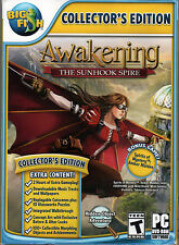 AWAKENING: THE SUNHOOK SPIRE Hidden Object Collector's Ed +BONUS PC Game DVD NEW