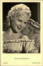 Schauspielerin Kino Bühne Film ~1940 KRISTINA SÖDERBAUM Porträt-AK Ross-Verlag