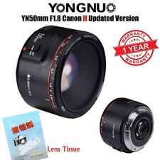 2018 New Version Yongnuo YN 50mm F 1.8 II AF MF Prime Fixed Lens for Canon DSLR