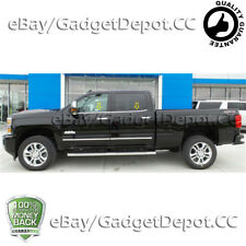 For 2014-2017 Chevy Silverado 1500 Crew Cab Stainless Steel Window Sill Overlay