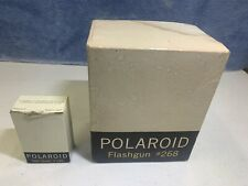 Vintage Polaroid Flashgun 268 And Timer 192