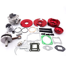Red 44mm Big Bore Kit Cylinder Assy For 47cc 49cc Mini ATV Dirt Pocket Bike Moto
