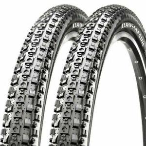 2 x MAXXIS Crossmark Mountain Bike Bicycle Cycling Tyre 26 x 2.1