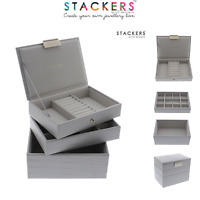 Stackers MINI Size Jewellery Boxes PUTTY CROC Make Your Own Set FREE DELIVERY