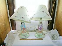 George and Martha matching set Table Lamps Ceramic
