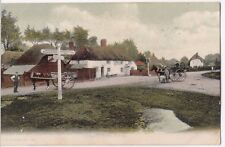Hampshire; Cadnam, New Forest PPC, Local PMK 1906, Shows Sir John Barleycorn Pub