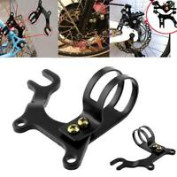 Black Bicycle Bike Disc Brake Bracket Frame Adaptor Mounting Holder
