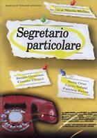 segretario particolare - usato ex noleggio - DVD D022088