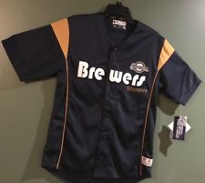 Milwaukee Brewers Adult Large Jersey Xlarge**NEW**FREE SHIPPING**