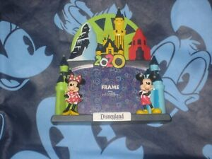 DISNEYLAND Resort Mickey & Minnie Mouse Photo Frame 4x6  2020 New