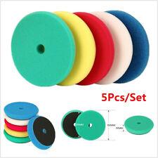 """5Pcs 6"""" inch 150mm Waxing Pad Sponge Polishing Foam Pads For RO/DA Car Polisher"""