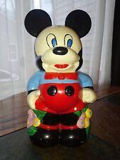 Disney Turnaround 4 in 1 Mickey and Minnie Cookie Jar 1940s Most Original Color