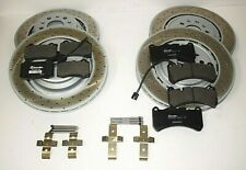 Maserati Ghibli SQ4 Quattroporte AWD Front & Rear Brake Pads & Rotors Kit