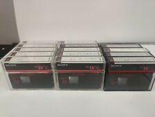14 used SONY DVC80PRL 80 LP120 Mini DV DVC Premium Digital Video Cassette