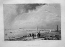 WANGEROOGE. Originaler Stahlstich von SANDER / PAYNE, 1850
