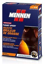 Tee shirt sport brûle graisse  Mennen (maigrir régime musculation)  -50%