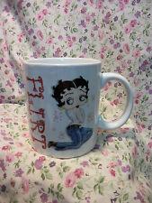 NEW BETTY BOOP FLIRT 12OZ COFFEE MUG CUP