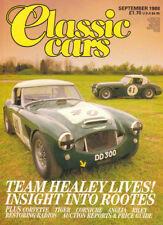 Classic Cars Sep 1988 Team Healey, Bentley, Ford Anglia