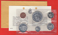 1965 Silver Canada RCM Proof Like Mint Silver Set PL COA+Envelope- Free Shipping