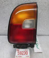 Oem 1996-1997 Toyota Rav4 Left Driver tail light 30 3B2