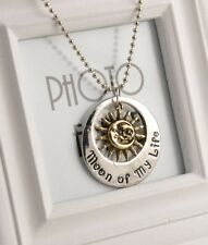 "Fashion Moon of My Life My Sun and Stars ""Game of Thrones""Pendant Necklace Chain"
