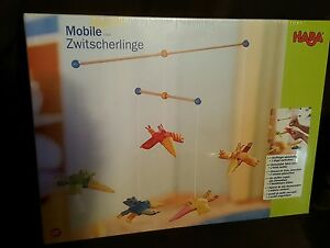 Brand new sealed - Haba Toys Twitterling Mobile - free shipping