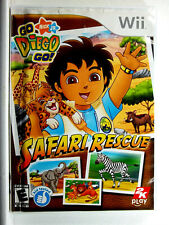 Go Diego Go Safari Rescue (Wii) Complete - Clean,Tested & Fast Shipping
