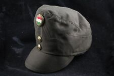 NOS! Hungarian Peoples Army Peaked Officer Cap Gold Higher Ranks Badge Button