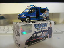 Mercedes Benz Sprinter Macau Police escola de policia 1/64 tiny toy car