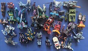 TRANSFORMERS ENERGON ARMADA CYBERTRON Part Lot Autobot Decepticon Action Figures