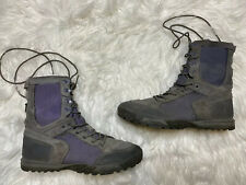 511 Tactical Recon Storm Grey  Flyweight W/Z Size 9.5 Military Style Boots