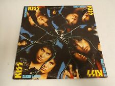 KISS Crazy Nights Vinyl LP ORIGINAL & RARE 1987