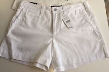 BNWT Ralph Lauren Ladies Shorts White UK 14 USA 10, EU 44 RRP £115.00
