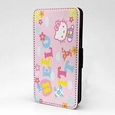 Funda para Estuche Abatible Para Teléfono Móvil Hello Kitty-T1451