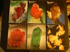 Mineralogical Record Magazine Vol 22 1991, 6 Issues