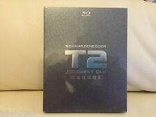 Terminator 2 T2 juicio día kimchi Exclusive Steelbook Blu Ray * Nuevo y Sellado *