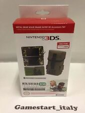 METAL GEAR SOLID SNAKE EATER 3D ACCESSORY SET - NINTENDO 3DS - NEW - RARE - HORI