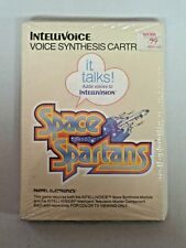 Vintage Intellivision Itellivoice SPACE SPARTANS Voice Synthesis Cartridge NEW