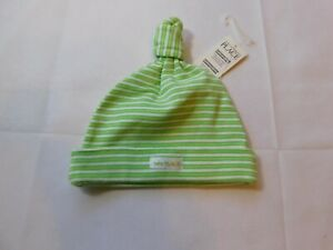 The Children's Place Baby Girl's Beanie Hat Size 0-3 Months 7-11 lbs green NWT