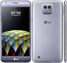 """SIM Débloqué LG k580 X Cam Titan Argent DÉVERROUILLÉ USINE 5.2 """" 16GB 4G LTE"""