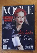 VOGUE MAGAZINE October 1996 Madonna cover