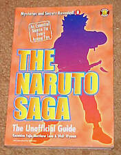 Naruto Saga Unofficial Guide Mysteries & Secrets Revealed #8 Manga Anime