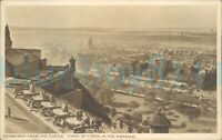 Edinburgh from the Castle Firth Of Forth In distance 1947 Postmark