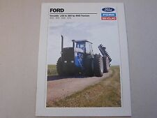 Ford Tractor Brochure Versatile 846 876 946 976 4WD  LOTS More Listed
