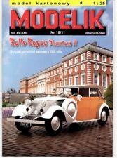 Card Model Kit – Rolls-Royce Phantom II
