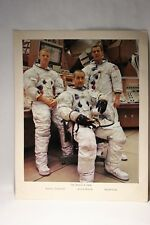 Rare Vintage The Apollo 9 Crew Photo . Photo No 69 - HC - 264  Size 14''x 11''