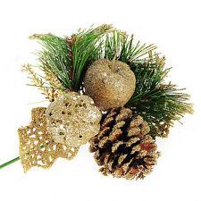 Christmas Pine Cones Baubles Xmas Tree Decorations Ornament Home Decor New SM