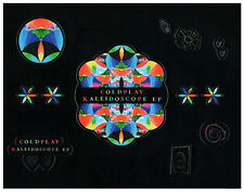 COLDPLAY Kaleidoscope EP 2017 Ltd Ed RARE Stickers Sheet +FREE Rock Pop Stickers