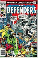 Defenders #49 (1972) - 9.0 VF/NM *Rampage/Moon Knight*